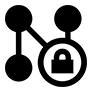 Logo schématique d'un réseau