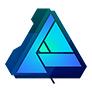 Logo de affinity designer de Serif